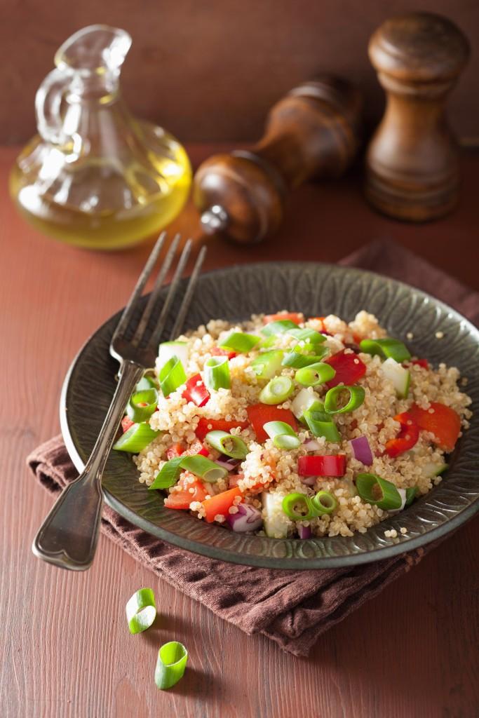 Frischer Quinoa-Salat