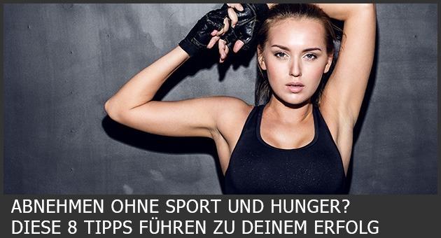 abnehmen ohne hungern und sport